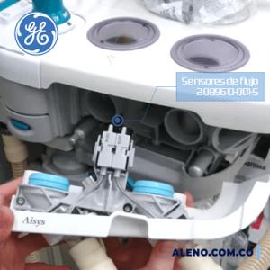 DO2089610-001-S Sensor de Flujo DO 2089610-001-S GE para Aestiva 3000 VB, Aespire, Aisys y Avance reemplaza 1503-3856-000 y 1503-3858-000